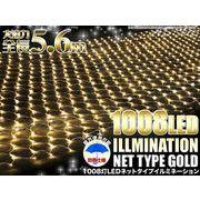 クリスマスイルミネーション 1008灯LEDイルミネーション ネットタイプ
